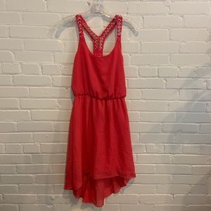Women's XS Charlotte Russe hi-lo red dress